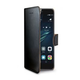Celly Pouzdro na mobil flipové  Wally pro pro Huawei Y6 (2017) - černé