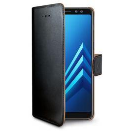 Celly Pouzdro na mobil flipové  Wally pro Samsung Galaxy A8 (2018) - černé
