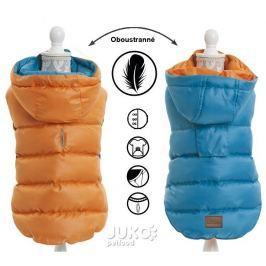 Obleček oboustranný light weight modrooranžová 30cm – 4824C