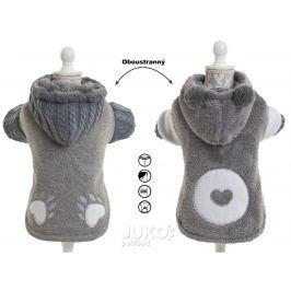 Koala oboustranný obleček šedý 40cm – 4966C