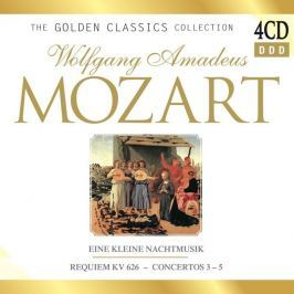 CD Mozart : The Golden Classic Collection Box-Set