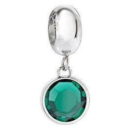 Morellato Ocelový přívěsek se zeleným krystalem Drops SCZ907