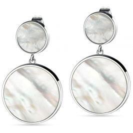 Morellato Stříbrné visací náušnice s perletí Perfetta SALX07