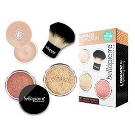 bellápierre Sada pro dokonalý make-up Flawless Complexion (Make-Up Kit) Dark