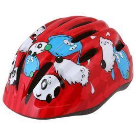 Etape Dětská cyklistická přilba  Kiki, 48 - 52, Červená