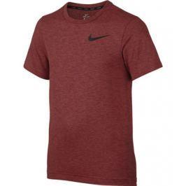 Nike Dětské tričko  Dry Training Top Red, S