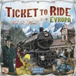 BLACKFIRE Rodinná hra Ticket to Ride Evropa
