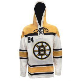 Old Time Hockey Pánská mikina s kapucí  Lace Hoody Road & Vintage NHL Boston Bruins, M