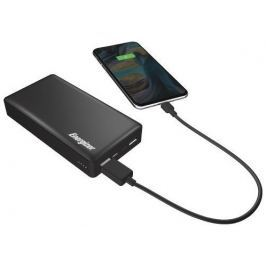Energizer 20000mAh Quick Charge 3.0 Power Bank, Dual Input Type-C, Dual output U