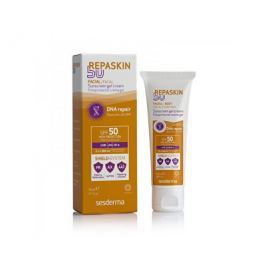 Sesderma Opalovací gel-krém na obličej SPF 50 Repaskin (Sunscreen Gel Cream) 50 ml