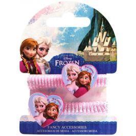 Vlasové gumičky se srdíčky Ledové království