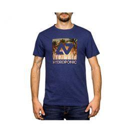 Hydroponic Pánské tričko Hy Palms Ss Heather Navy, L