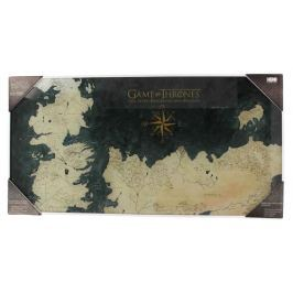 Game of Thrones PLAKÁT NA SKLE 50 x 25 cm
