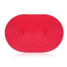 ROYCE BOHEMIA Prostírání plastové oválné MADEIRA Red 45 x 30 cm
