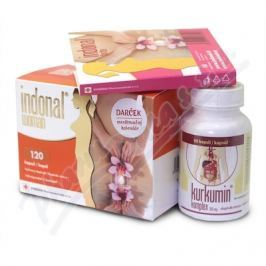 Synergia Indonal Woman cps.120+Forte cps.10+Kurkumin cps.60
