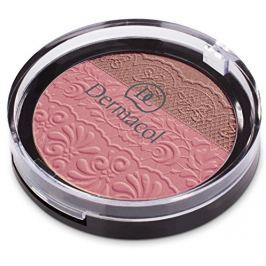 Dermacol DUO tvářenka s reliéfem krajky (Duo Blusher) 8,5 g č.4