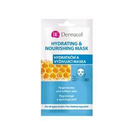 Dermacol Textilní hydratační a vyživující maska pro všechny typy pleti 3D (Regenerates Softens Skin)