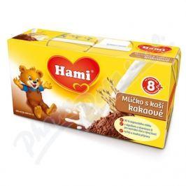 NUTRICIA Hami mlíčko s kaší kakao 2x250ml 8M