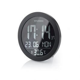 Hyundai Nástěnné hodiny  WSN 2400, s vnitřní teplotou, negativní displej