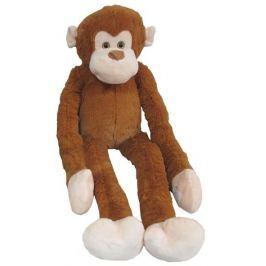 MAC TOYS Plyšová opice - světle hnědá 100 cm
