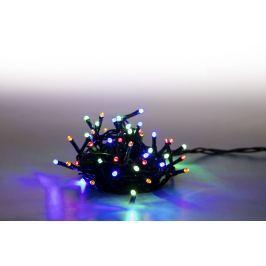 Řetěz světelný 200 LED 10 m - barevná - 8 funkcí