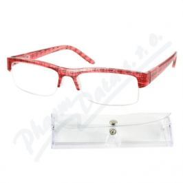 AMERICAN WAY CR Brýle čtecí +2.00 UV400 červeno-černé s pouzdrem