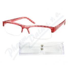 AMERICAN WAY CR Brýle čtecí +2.50 UV400 červeno-černé s pouzdrem