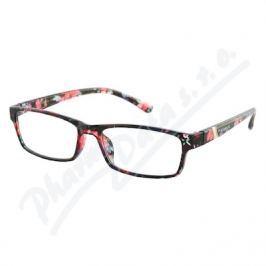 AMERICAN WAY CR Brýle čtecí +1.00 UV400 černo-květinové