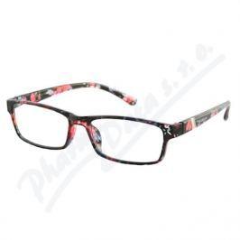 AMERICAN WAY CR Brýle čtecí +3.00 UV400 černo-květinové