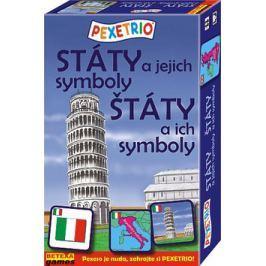 BETEXA, zásilková služba, s.r.o. Pexetrio Státy a jejich symboly