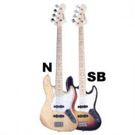 ABX GUITARS PB-280 BK/WBR ABX