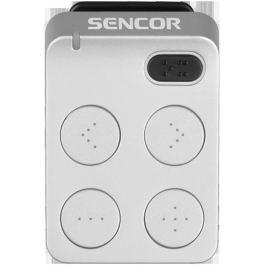 SENCOR SFP 1460 LG 4GB MP3 LIGHT GREY MP3 přehrávače