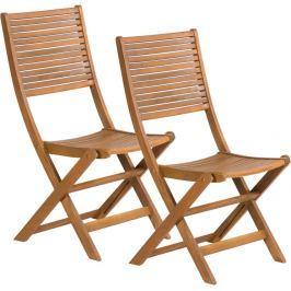 Fieldmann FDZN 4012-T Skládací židle 2ks Zahradní židle a křesla