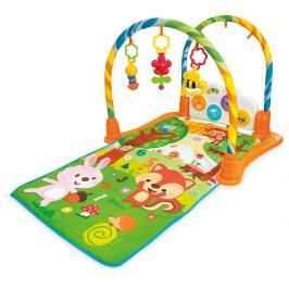 BUDDY TOYS BBT 6510 Hrací deka s tunelem motorické hračky