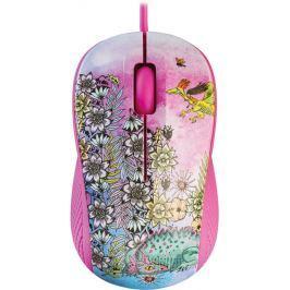 Yenkee YMS 1020PK Myš USB FANTASY růžová myši