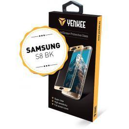 Yenkee YPG 3D01 3D ochr.sklo Galaxy S8BK