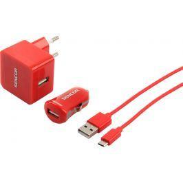 SENCOR SCO 516-000RD USB KIT 1M/WALL/CAR