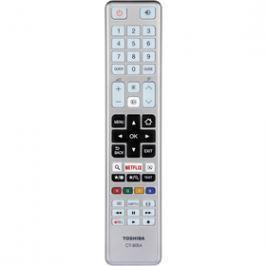Toshiba CT8054 DÁLK.OVL. SMART TV STŘÍB. dálkové ovladače