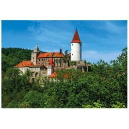 Dino Puzzle hrad Křivoklát 47x33cm 500 dílků v krabici 33,5x23x3,5cm