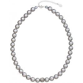 Evolution Group Perlový náhrdelník 32011.3 light grey
