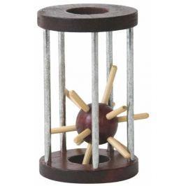 WOODY Dřevěné hry - Hlavolam Ježek v kleci