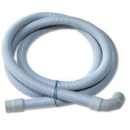 Hadice pračková,odpadní s kolínkem 1m