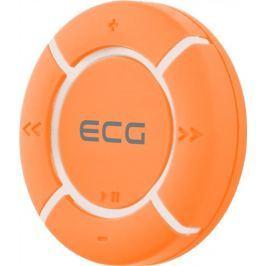 ECG MP3 přehrávač  PMP 10 4GB Orange