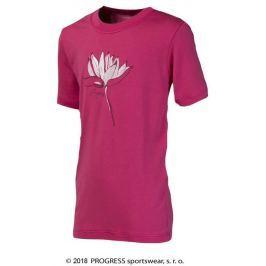 "Progress Dětské triko  NAVAHO ""LOTUS"", 140, Růžová"