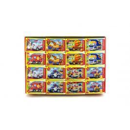 Teddies A-08521-BP Minipuzzle Pohádková auta 54 dílků 16,5x11cm asst 8 druhů v krabici 3