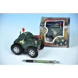 Teddies Tank převracecí plast 12cm na baterie v krabičce