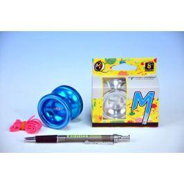Teddies Jojo T6 - Rainbow 5x4cm hliník/kov s ložiskem asst 3 barvy v krabičce