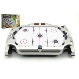 Teddies Hokej plast na baterie se zvukem se světlem v krabici 51x35x9cm