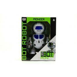 Teddies Robot tancující plast 23cm na baterie se světlem se zvukem v krabici