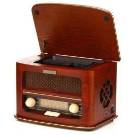 Hyundai Radiopřijímač s CD  RC606 RETRO, třešeň